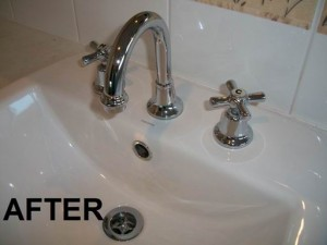 Soap Scum and Limescale Removal After
