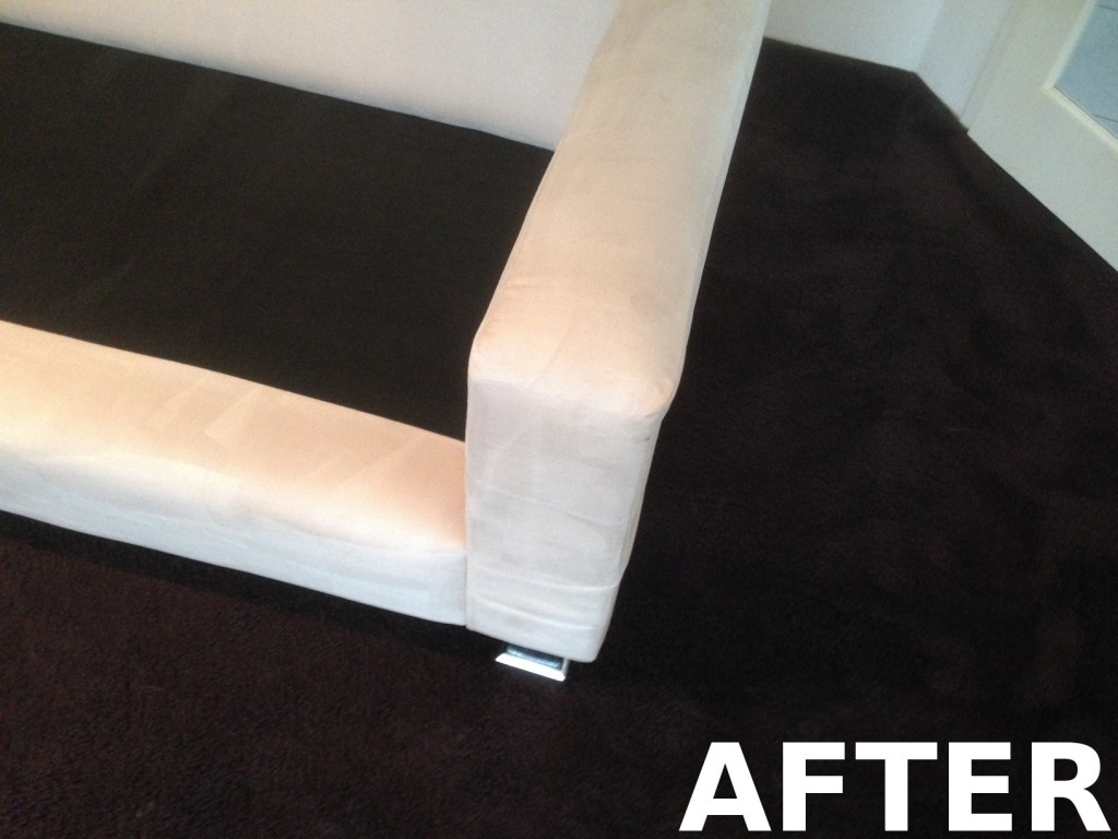 upholstery cleaning perth after
