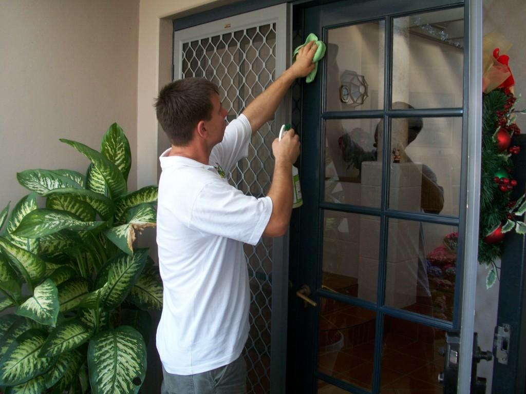 regular cleaning watermans bay outside door