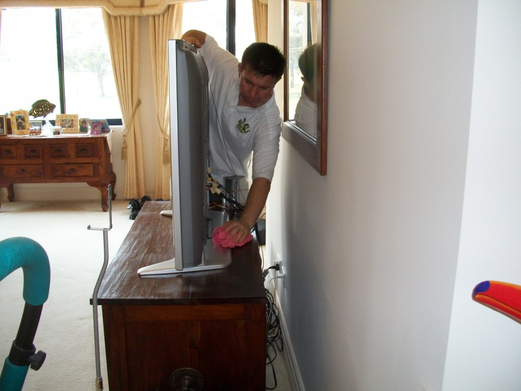 regular house cleaning marmion dusting